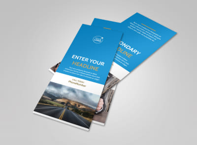 Roadside Assistance Service Flyer Template 2