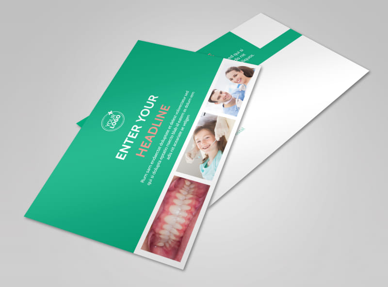 Dental Surgery Postcard Template Preview 4