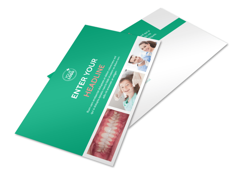 Dental Surgery Postcard Template Preview 1