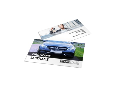 Luxury Auto Dealer Business Card Template