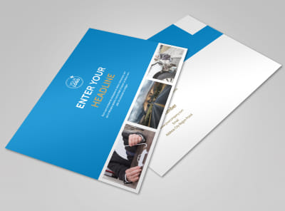 Roadside Assistance Service Postcard Template preview