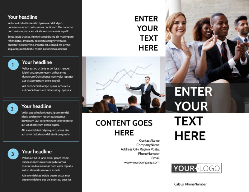Business Development Conference Brochure Template Preview 2