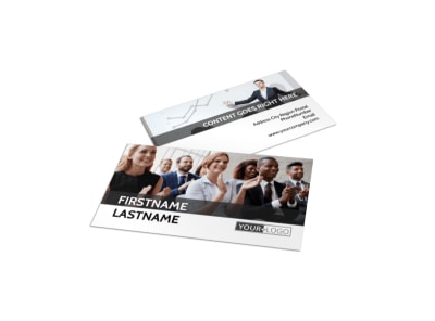 Business Development Conference Business Card Template