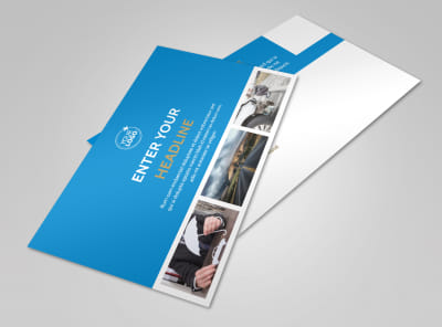 Roadside Assistance Service Postcard Template 2 preview