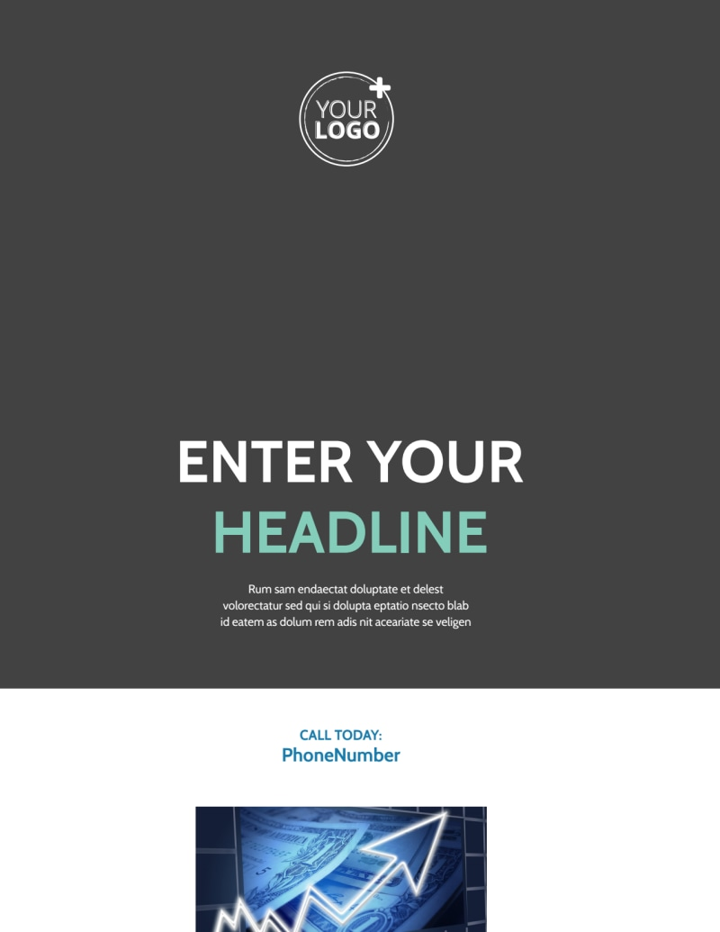 Financial Planning Service Flyer Template Preview 2