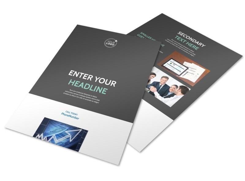 Financial Planner Flyer Template