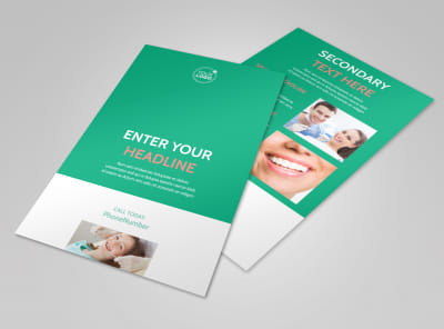 Dental Surgery Flyer Template 3