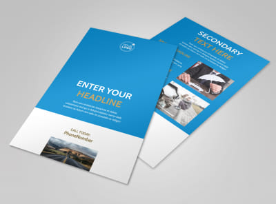Roadside Assistance Service Flyer Template 3