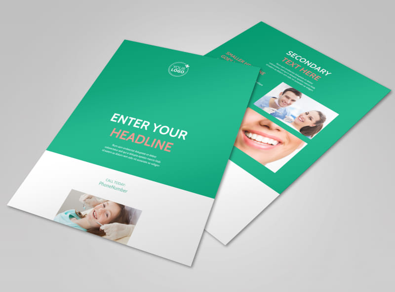 Dental Surgery Flyer Template