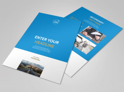 Roadside Assistance Service Flyer Template