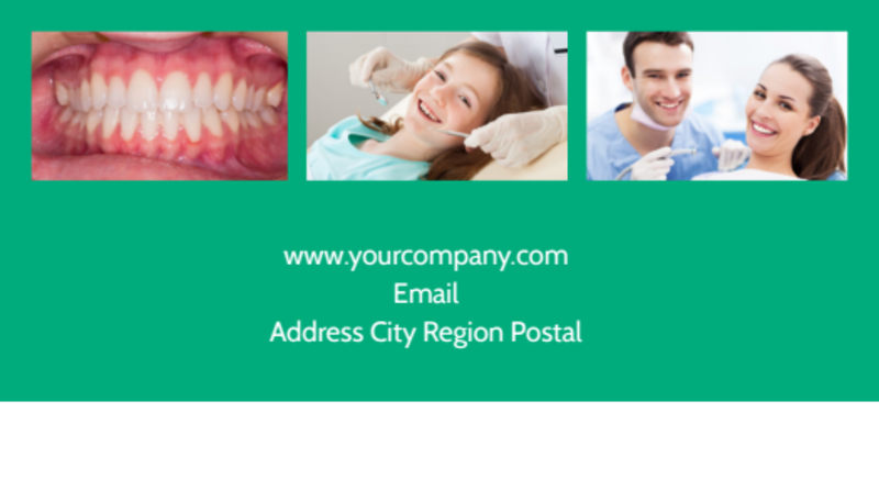 Dental Surgery Business Card Template Preview 3