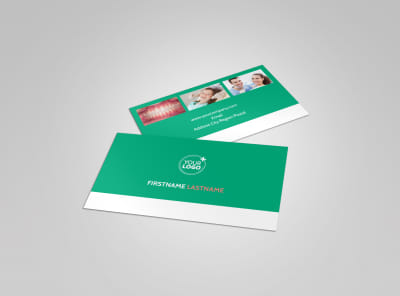 Dental Surgery Business Card Template preview