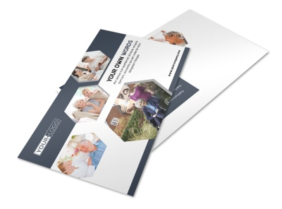 Healthcare Management Postcard Template 2