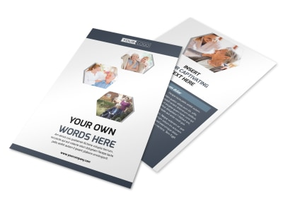 Healthcare Management Flyer Template 3