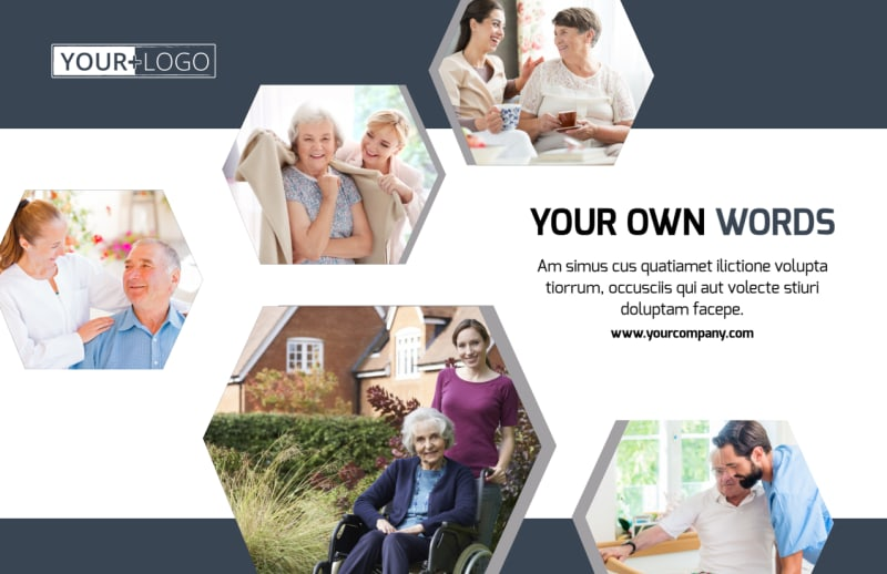 Home Healthcare Postcard Template Preview 2