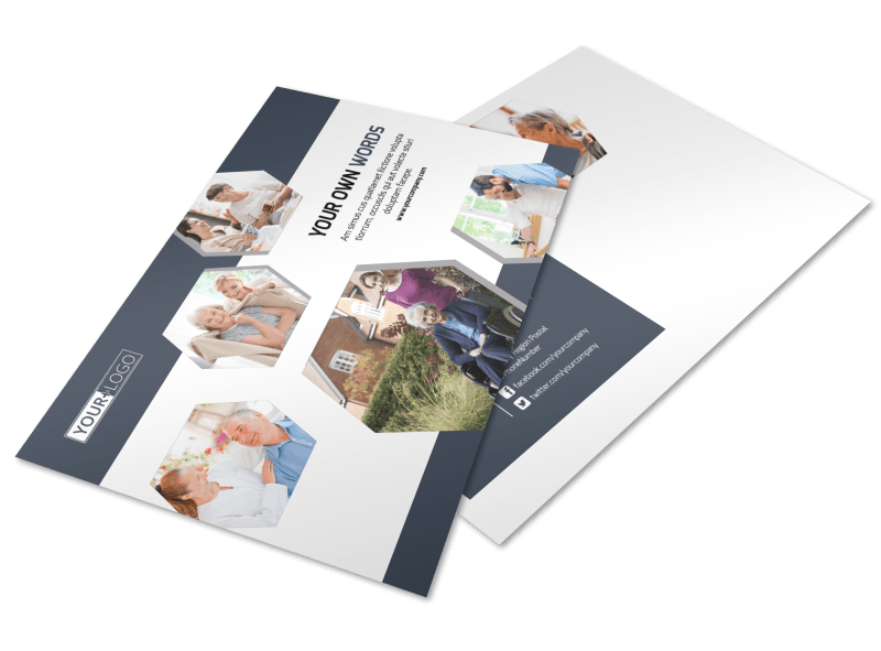 Home Healthcare Postcard Template Preview 1