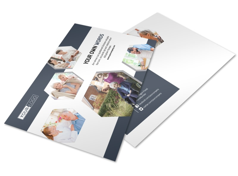 Home Healthcare Postcard Template Preview 4