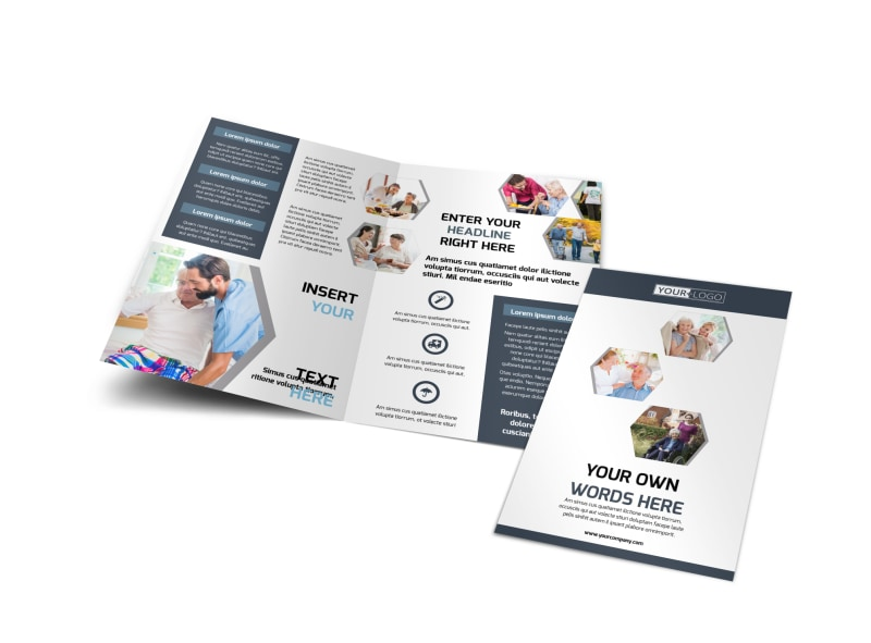 Home Healthcare Brochure Template Preview 4