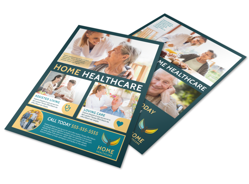 Home Healthcare Flyer Template Preview 1
