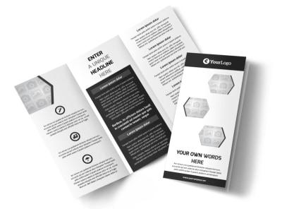 Generic Tri-Fold Brochure Template 7814