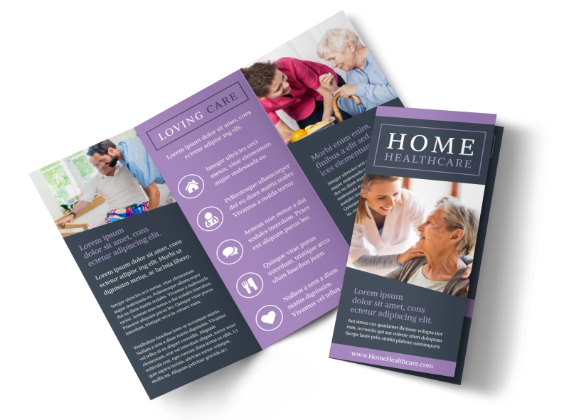 Home Care Flyer Templates By Grafilk On Home Health Brochure Care