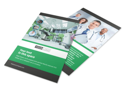 Hospital Flyer Template 3