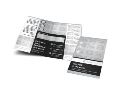 Generic Bi-Fold Brochure Template 7821