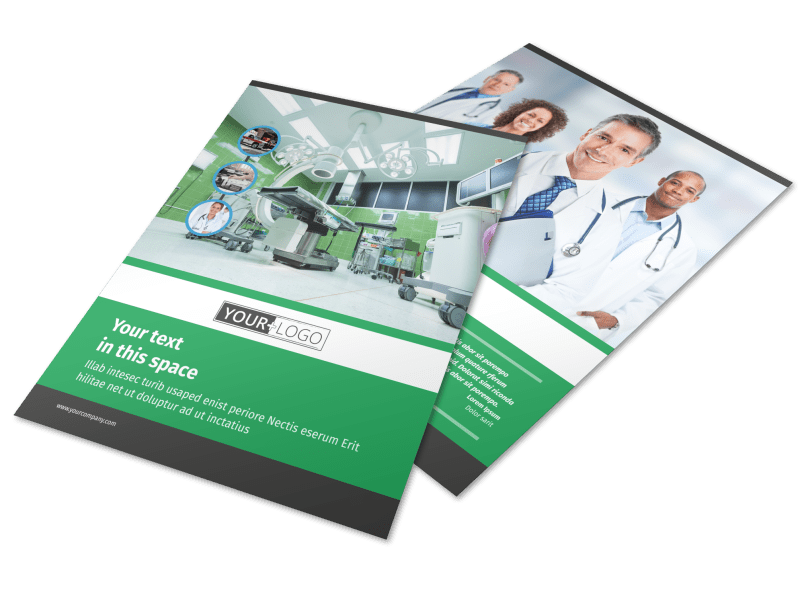 Medical Center Flyer Template Preview 1