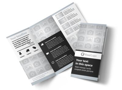 Generic Tri-Fold Brochure Template 7823