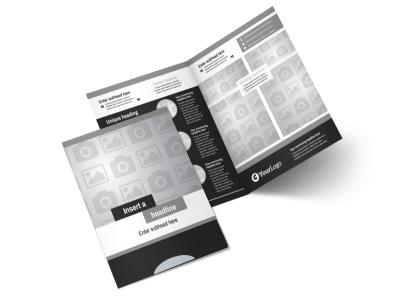 Generic Bi-Fold Brochure Template 7826