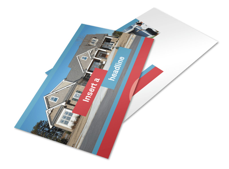 House for Sale Real Estate Postcard Template 2
