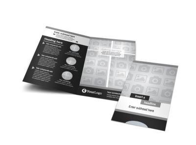 Generic Bi-Fold Brochure Template 7830