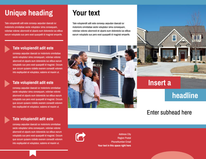 General Real Estate Brochure Template Preview 2