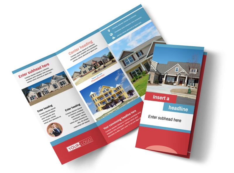 General Real Estate Brochure Template Preview 1