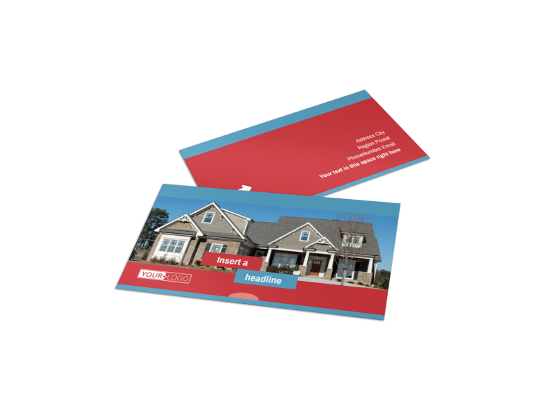 General Real Estate Business Card Template Preview 1