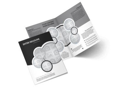 Generic Bi-Fold Brochure Template 7835 preview