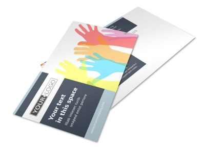 Human Rights Advocates Postcard Template 2 preview