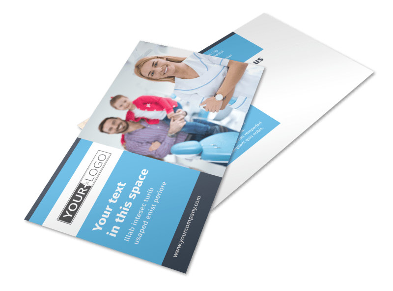 Your Family Dental Postcard Template 2