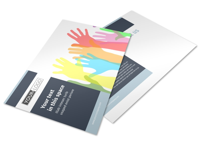 Human Rights Advocates Postcard Template Preview 4