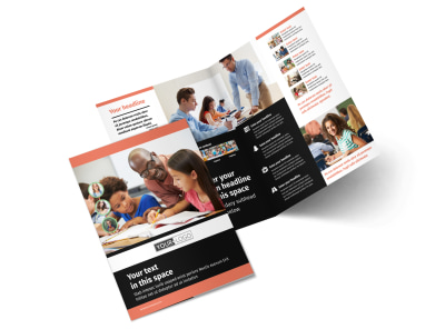 Learning Center & Tutoring Bi-Fold Brochure Template 2 preview