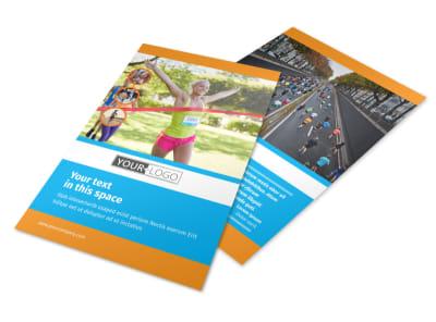 Marathon Race Flyer Template 3