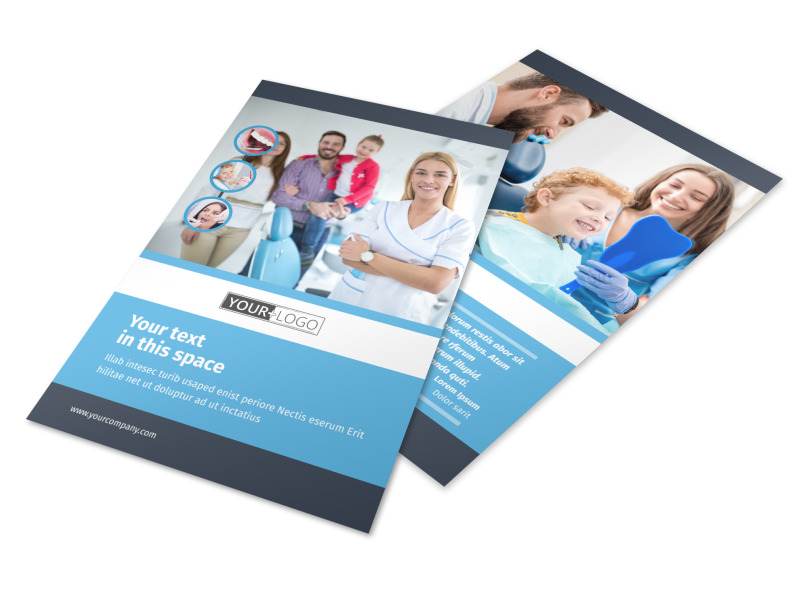 Your Family Dental Flyer Template 3