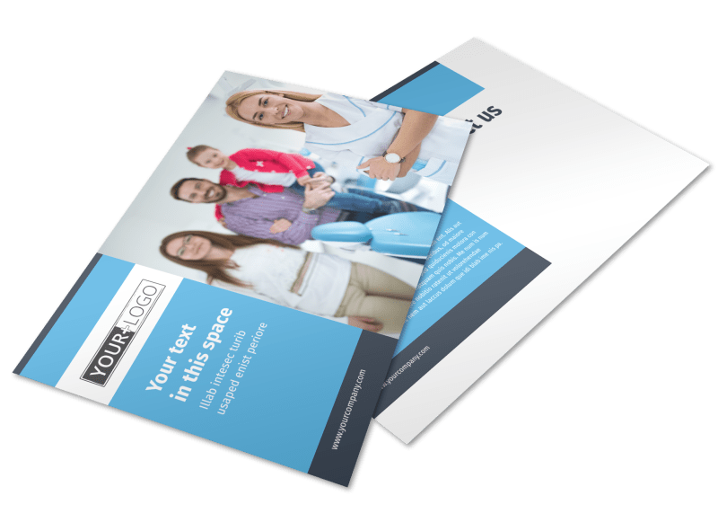 Your Family Dental Postcard Template Preview 1