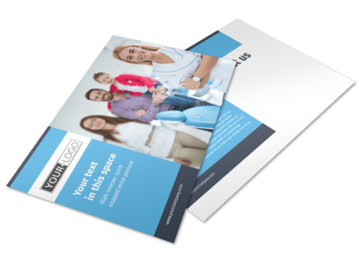 Your Family Dental Postcard Template preview