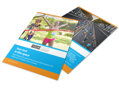 Marathon Race Flyer Template
