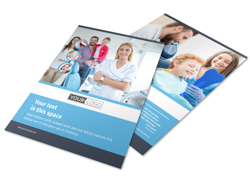 Your Family Dental Flyer Template Preview 4
