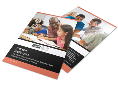 Learning Center & Tutoring Flyer Template preview