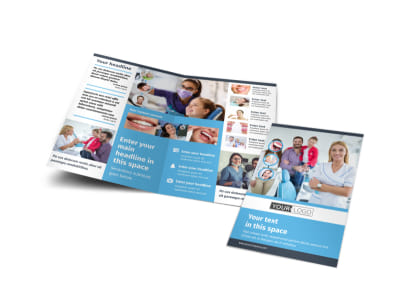 Your Family Dental Bi-Fold Brochure Template