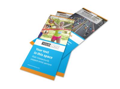 Marathon Race Flyer Template 2