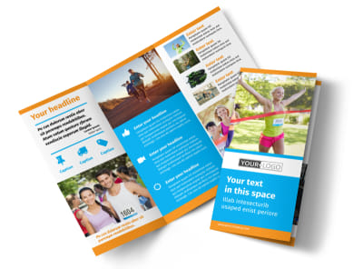 marathon race brochure template mycreativeshop